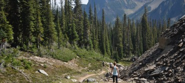 Gorman Lake: Golden BC's signature hike