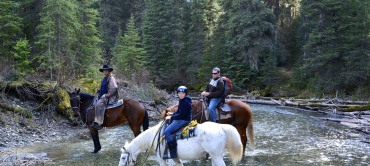 Adventures on Horseback in Golden BC